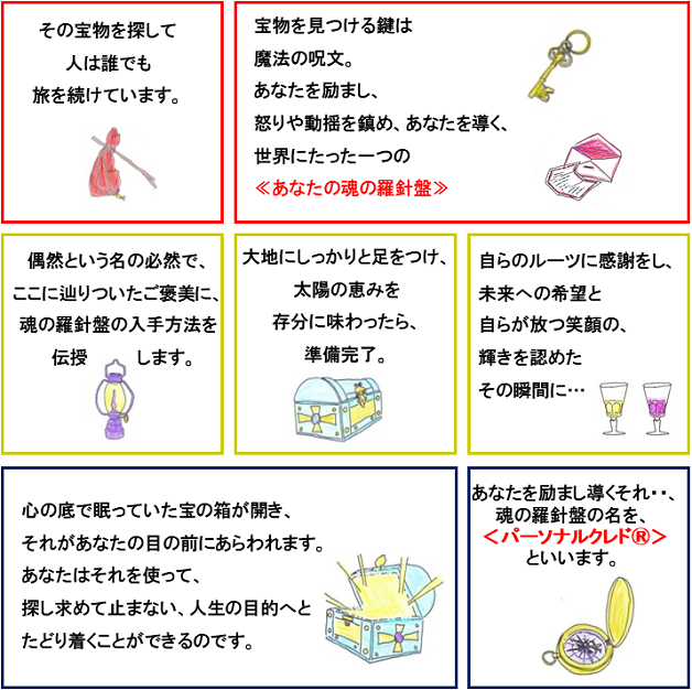 パーソナルクレド図版漫画FB